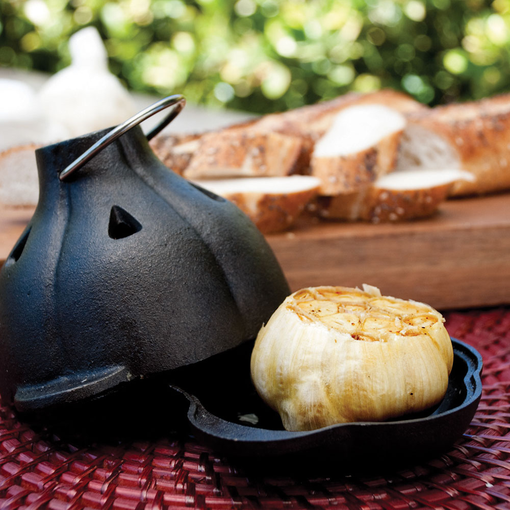 Cast-Iron Garlic Roaster