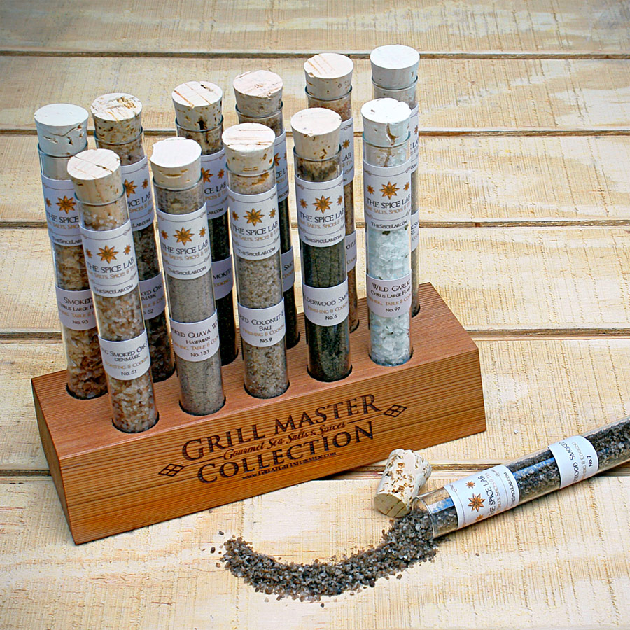 Grill Master Collection (Gourmet Sea Salts and Spices)