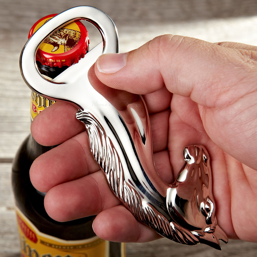 Silver Stallion Bottle Opener (Engravable)