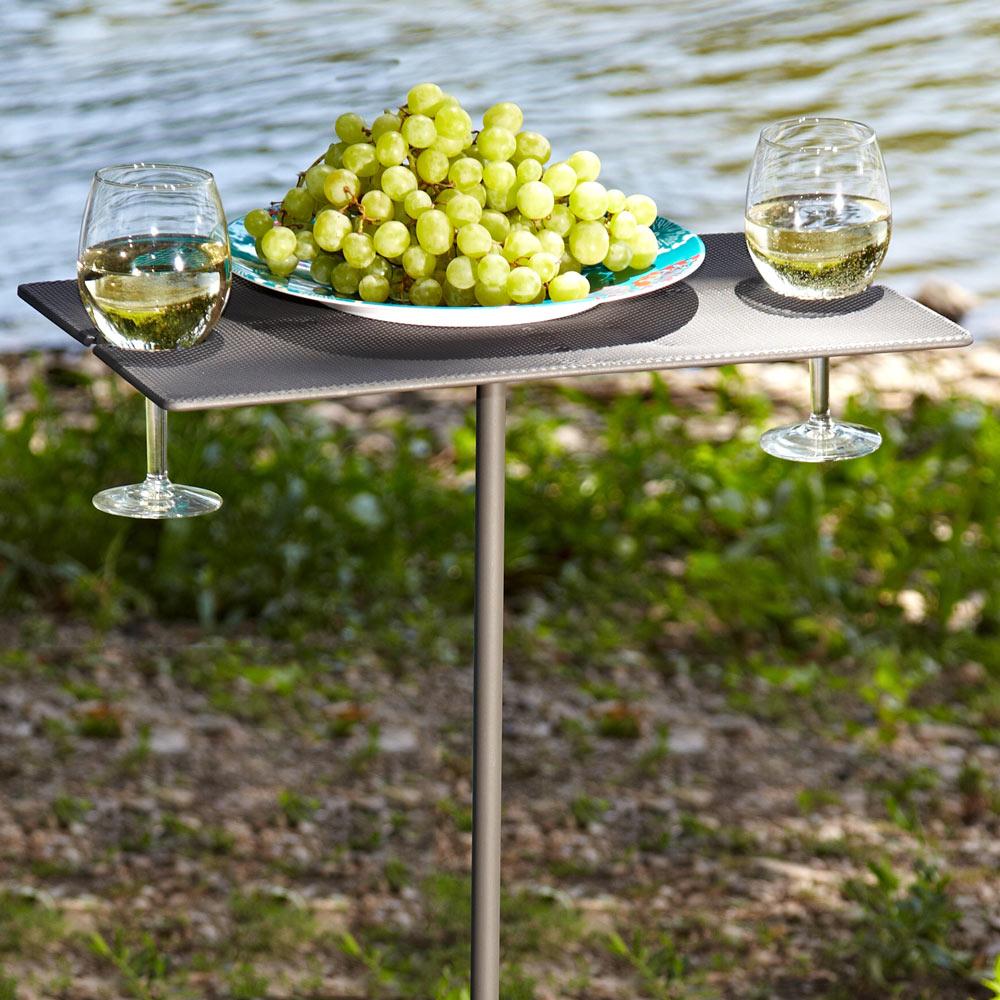 Portable Picnic Wine Table