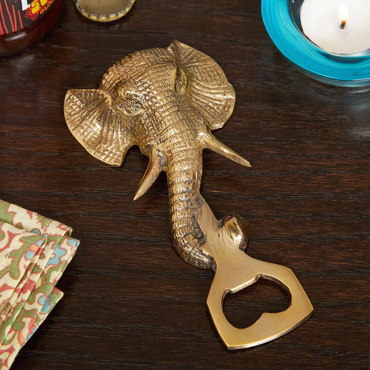 Big Trunk Elephant Bottle Opener