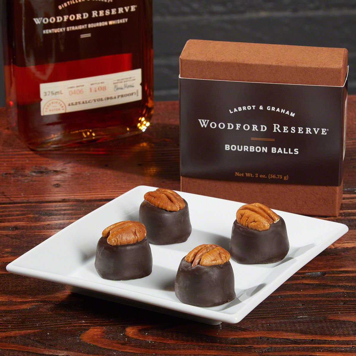 FREE GIFT - NO CHARGE - Woodford Reserve Bourbon Balls (Limit one)
