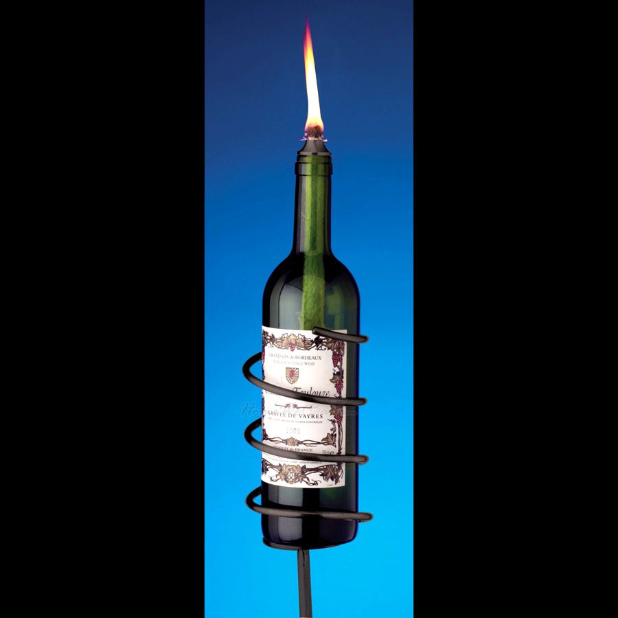Black-Wine-Bottle-Garden-Torch-Kit