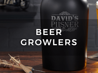 Beer Growlers & Pitchers