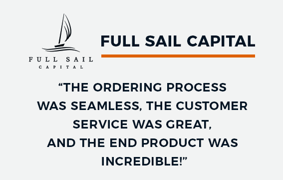 Full Sail Capital Corporate Gift
