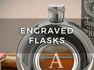 Engraved Flasks
