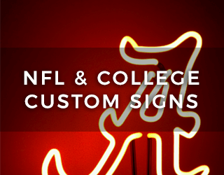 NFL & College Custom Signs