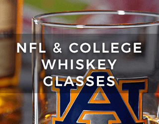 NFL & College Whiskey Glasses