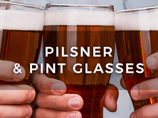 Pint Glasses & Beer Pilsners