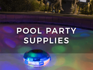 Pool Party Supplies