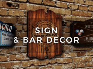 Signs & Bar Decor
