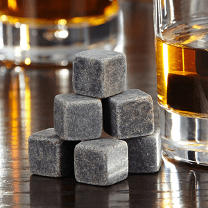 On The Rocks Whiskey Stones, Set of 9