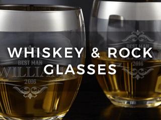 Bourbon Glasses & Whiskey Rocks Glasses